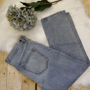 Free People High Waist Ankle Stonewashed  Jeans